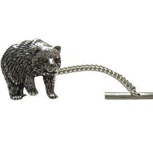 Bear Tie Tack